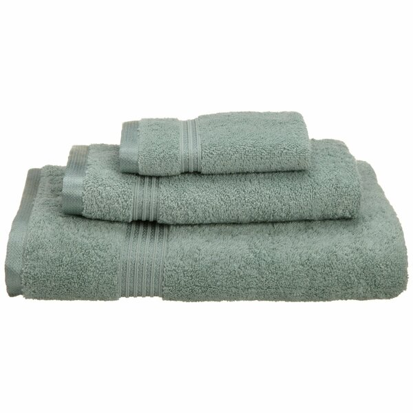 Patric 3 Piece 100% Cotton Towel Set by The Twillery Co.